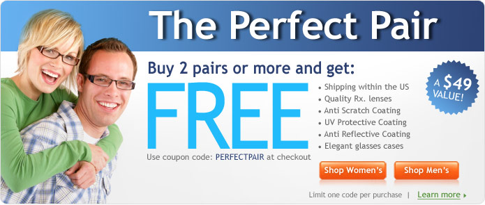Get Exclusive Glasses USA Coupon at Wikifashionista.com :  shopping coupons on promotional