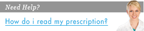 How do i read my prescription?